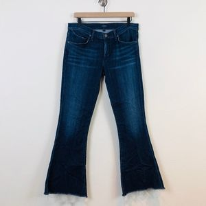 Agolde Madison 70s Ultra Flare Jeans in Voyager